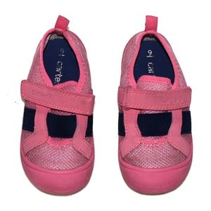 Carter's Pink Water Shoes